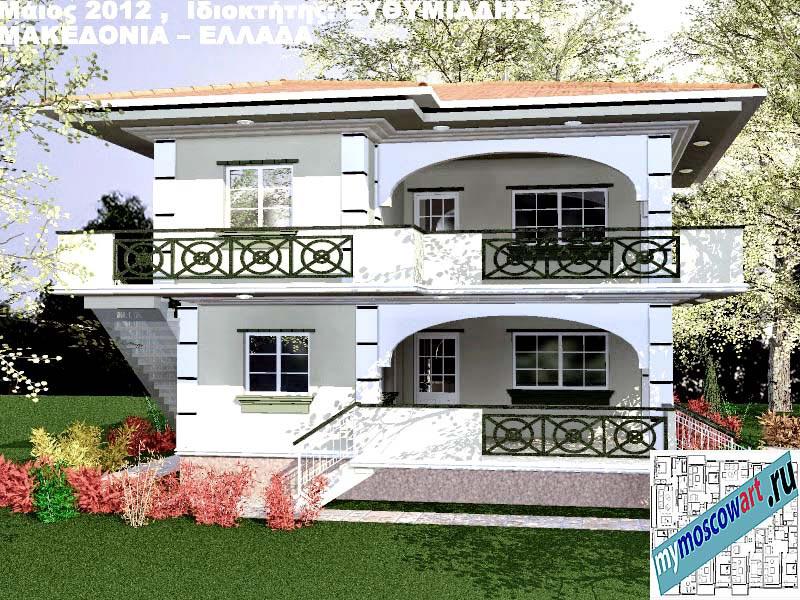 Проект дома - Ефимиадиc (Город Аспровальта - Греция) (5)