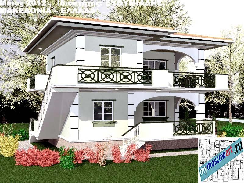 Проект дома - Ефимиадиc (Город Аспровальта - Греция) (7)