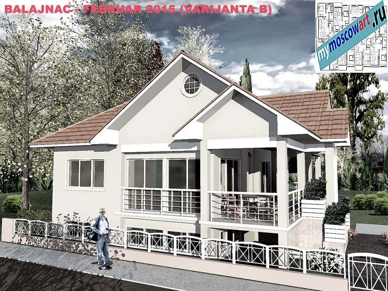 Проект дома - Милан (Деревня Балайнац - Сербия) (2)