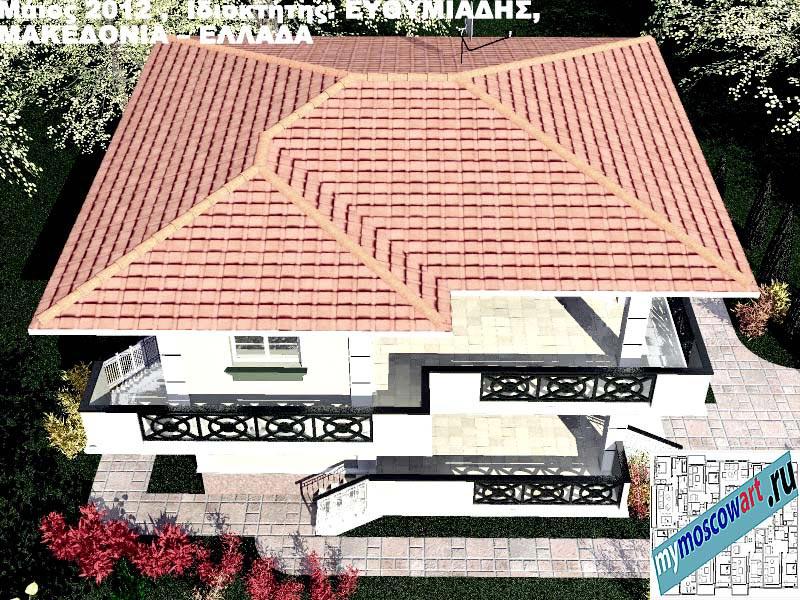 Проект дома - Ефимиадиc (Город Аспровальта - Греция) (18)