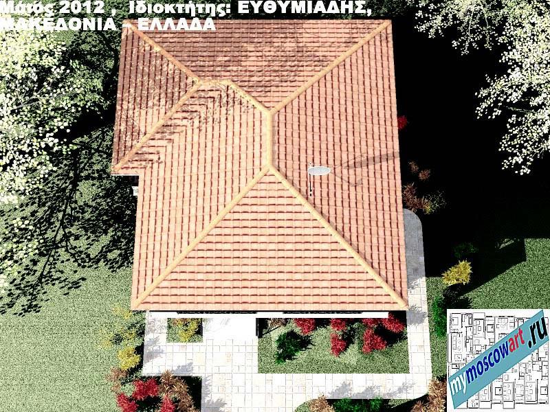 Проект дома - Ефимиадиc (Город Аспровальта - Греция) (20)