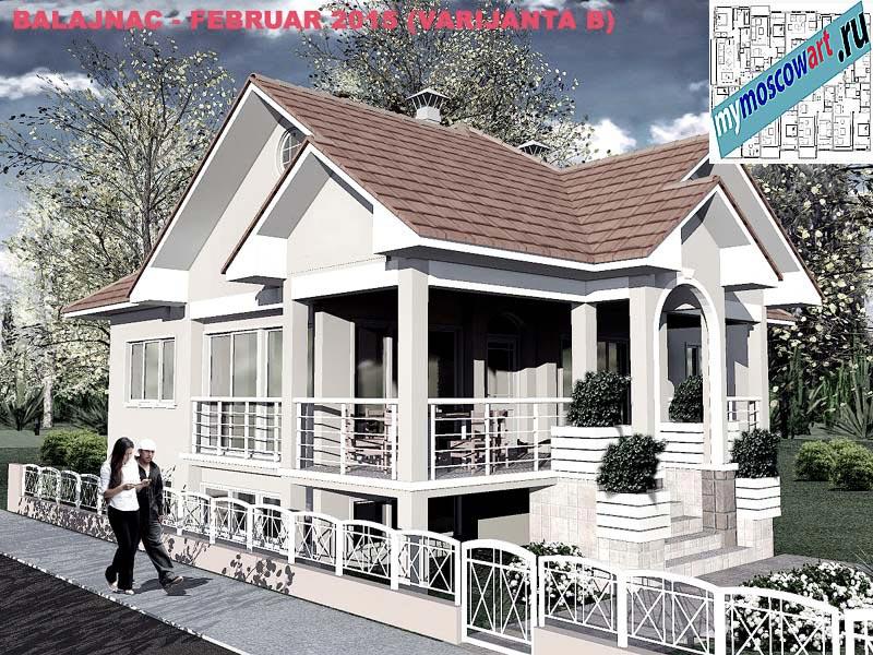 Проект дома - Милан (Деревня Балайнац - Сербия) (3)