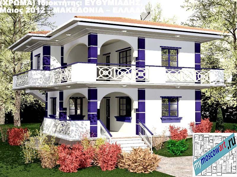 Проект дома - Ефимиадиc (Город Аспровальта - Греция) (31)
