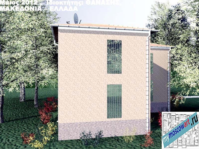 Проект дома - Фанасис (Город Аспровальта - Греция) (8)