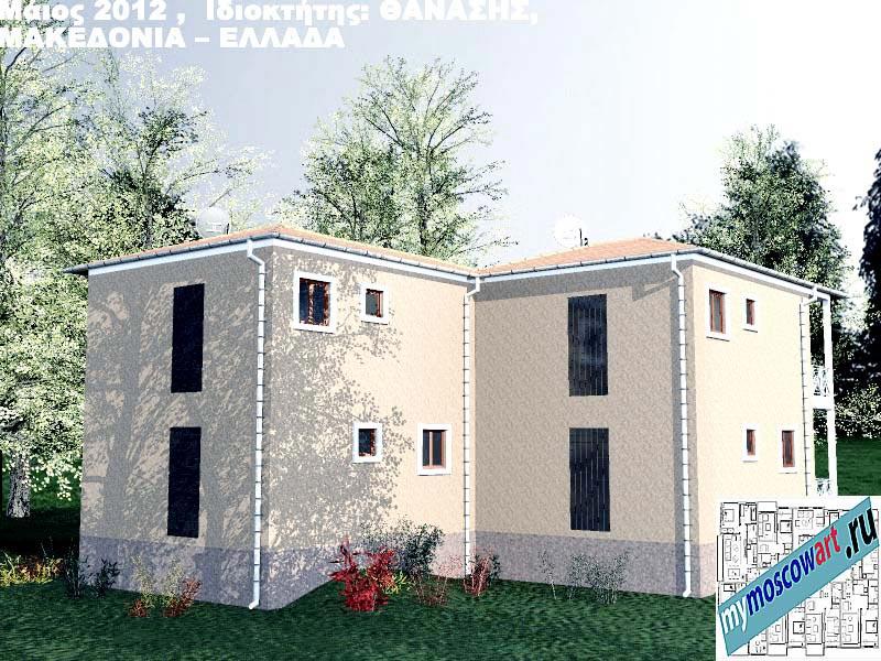 Проект дома - Фанасис (Город Аспровальта - Греция) (9)