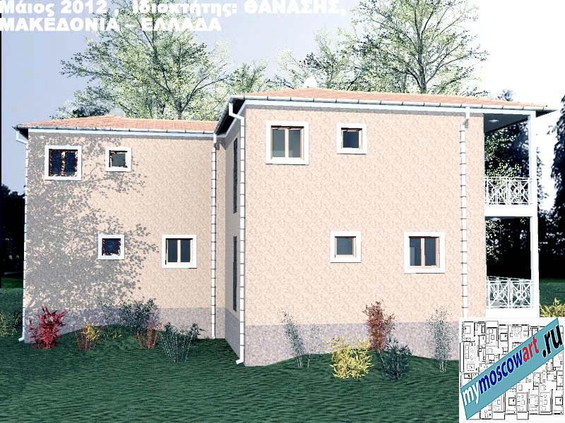 Проект дома - Фанасис (Город Аспровальта - Греция) (10)