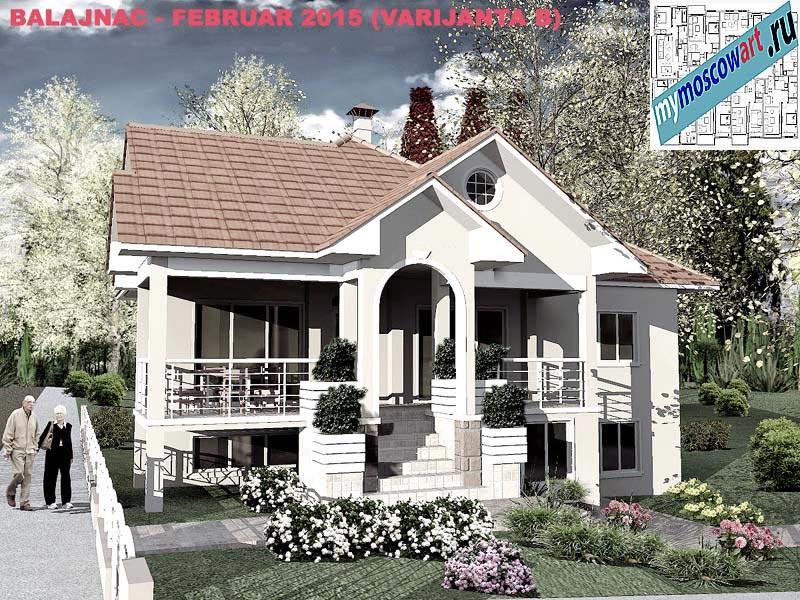 Проект дома - Милан (Деревня Балайнац - Сербия) (4)