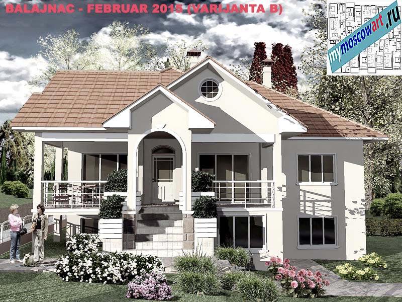 Проект дома - Милан (Деревня Балайнац - Сербия) (5)