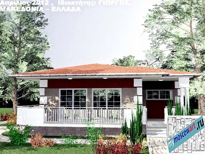 Проект дома - Григорий (Город Аспровальта - Греция) (1)