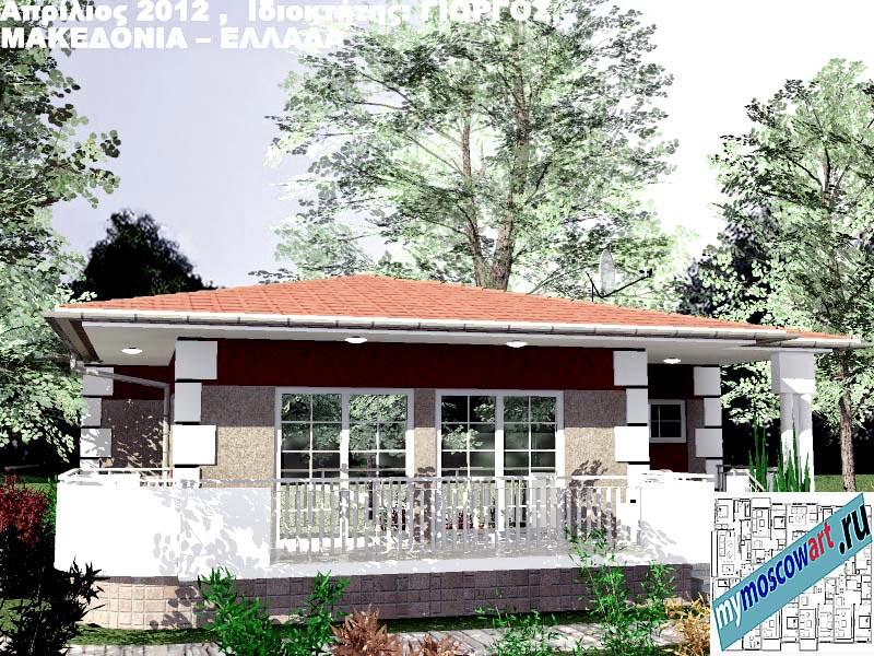 Проект дома - Григорий (Город Аспровальта - Греция) (2)