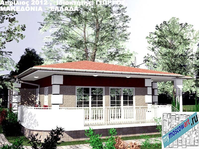 Проект дома - Григорий (Город Аспровальта - Греция) (3)