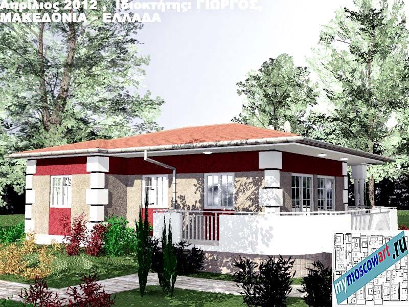 Проект дома - Григорий (Город Аспровальта - Греция) (4)