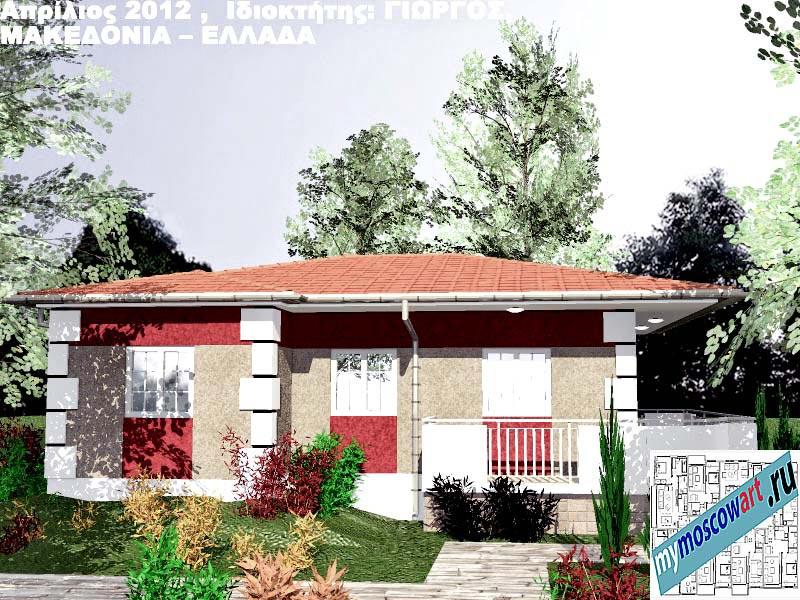 Проект дома - Григорий (Город Аспровальта - Греция) (5)