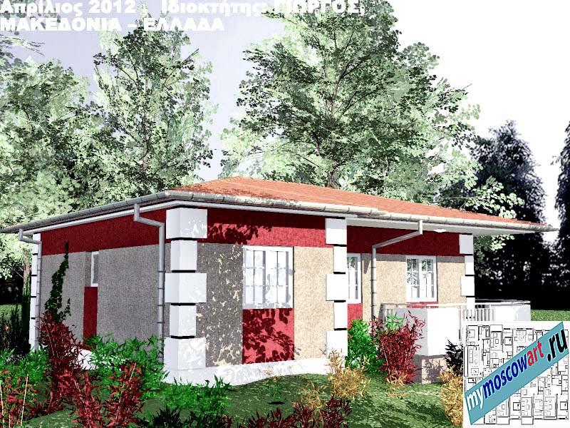 Проект дома - Григорий (Город Аспровальта - Греция) (6)