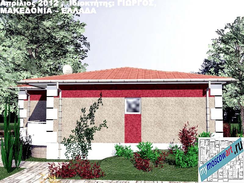 Проект дома - Григорий (Город Аспровальта - Греция) (8)