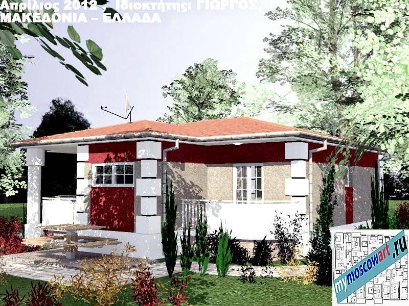 Проект дома - Григорий (Город Аспровальта - Греция) (10)