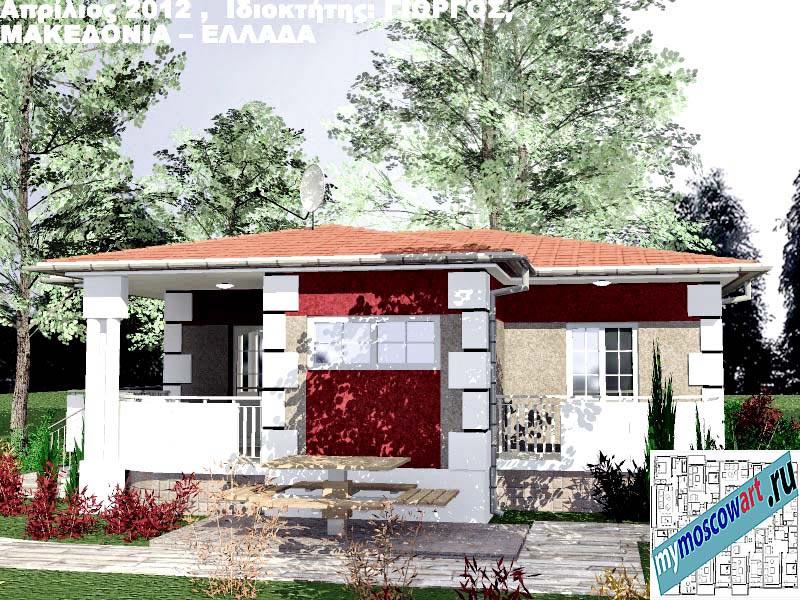 Проект дома - Григорий (Город Аспровальта - Греция) (11)