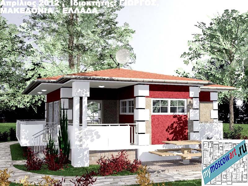 Проект дома - Григорий (Город Аспровальта - Греция) (12)