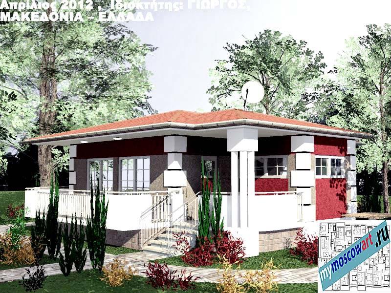 Проект дома - Григорий (Город Аспровальта - Греция) (13)