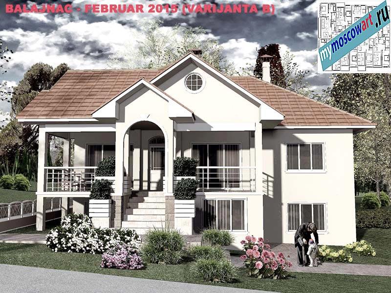 Проект дома - Милан (Деревня Балайнац - Сербия) (6)