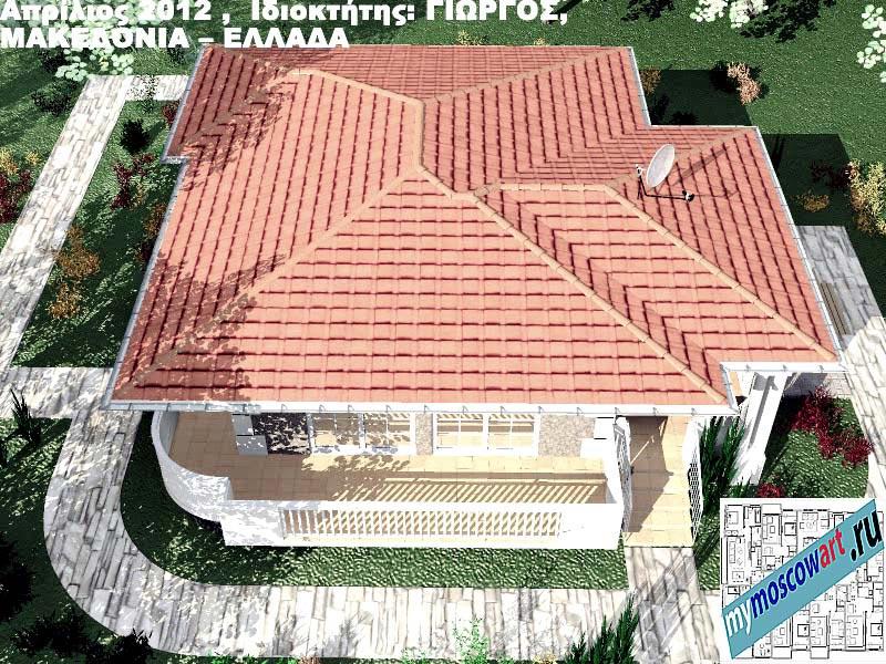 Проект дома - Григорий (Город Аспровальта - Греция) (15)