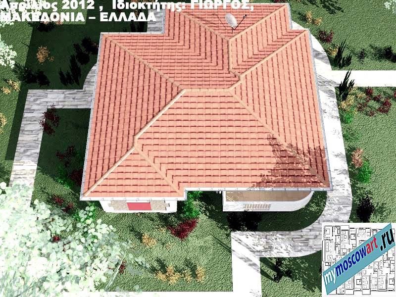 Проект дома - Григорий (Город Аспровальта - Греция) (16)