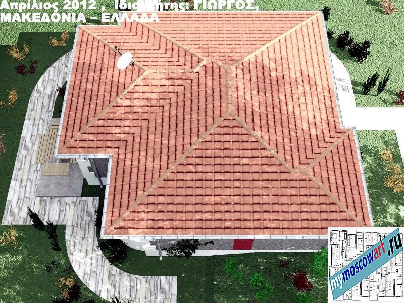 Проект дома - Григорий (Город Аспровальта - Греция) (17)