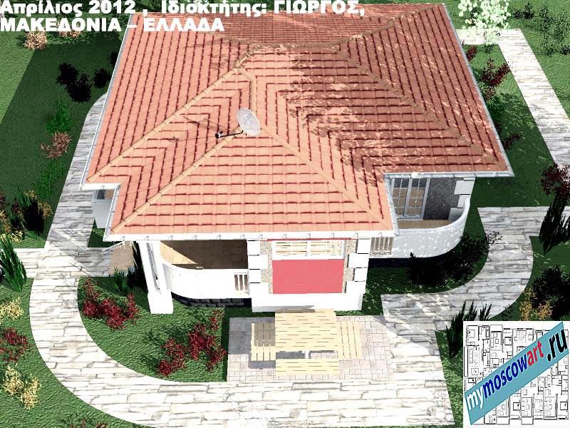 Проект дома - Григорий (Город Аспровальта - Греция) (18)
