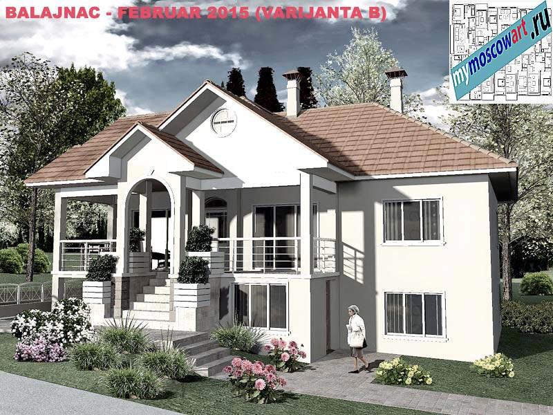 Проект дома - Милан (Деревня Балайнац - Сербия) (7)