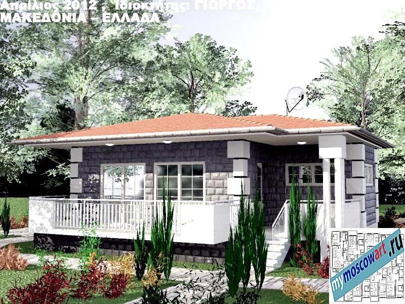 Проект дома - Григорий (Город Аспровальта - Греция) (25)