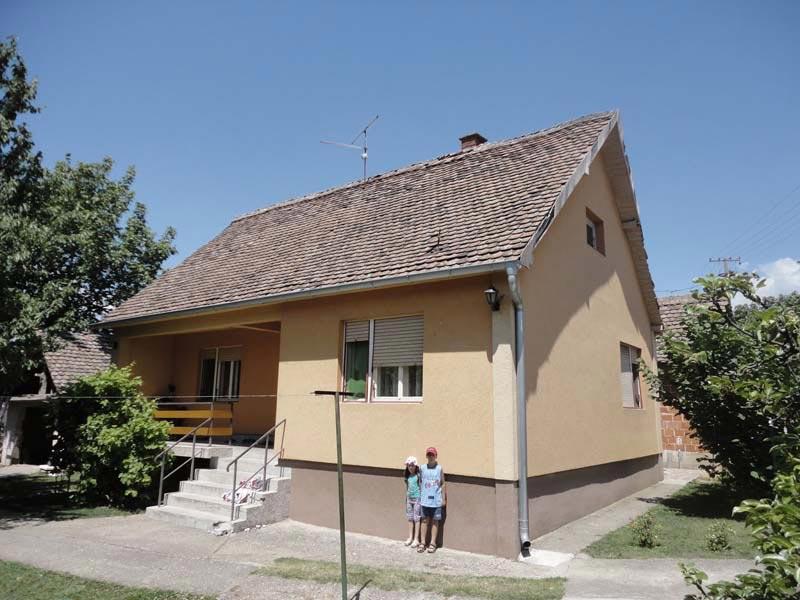 Проект дома - Динич (Деревня Главица - Сербия) (2)