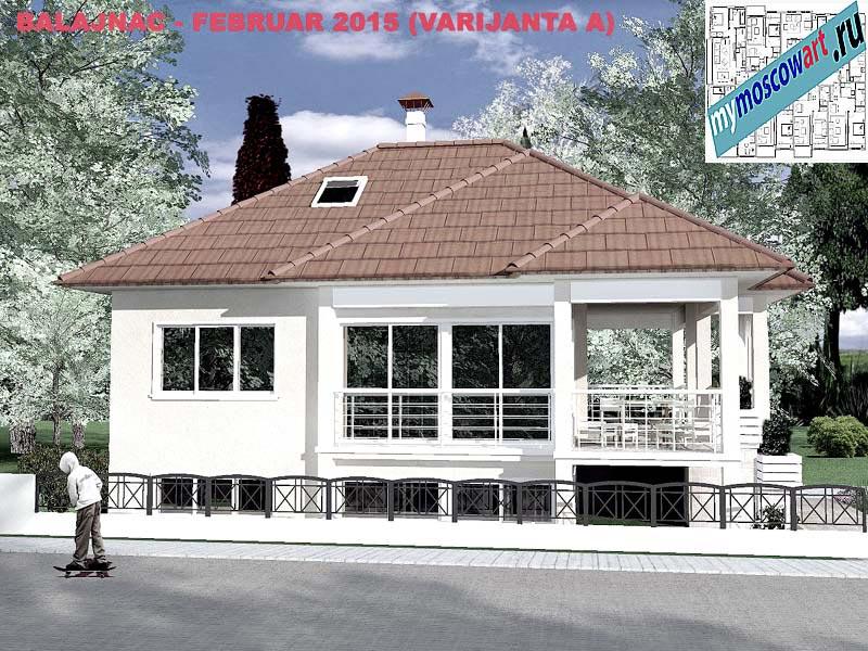 Проект дома - Милан (Деревня Балайнац - Сербия) (9)
