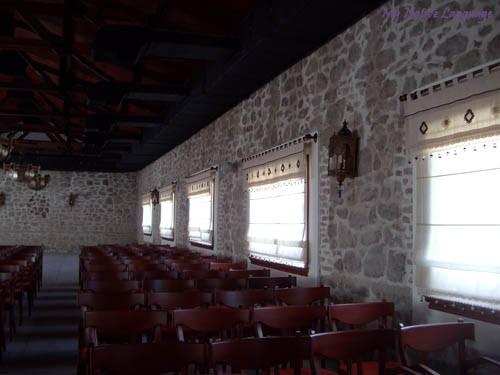 Помещение бывшей столовой для заключенных
