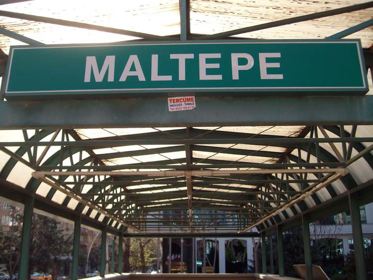 Maltepe-Анкара станция метро