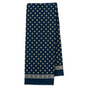 935-15 Lord Men's cachenez Natural Merino 100/% Wool scarf Russian Pavlovo Posad