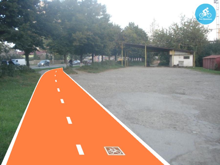 Іванофранківцям показали як можуть виглядати велодоріжки на Галицькій (фото) - фото 13