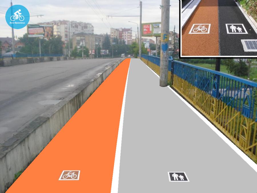 Іванофранківцям показали як можуть виглядати велодоріжки на Галицькій (фото) - фото 23