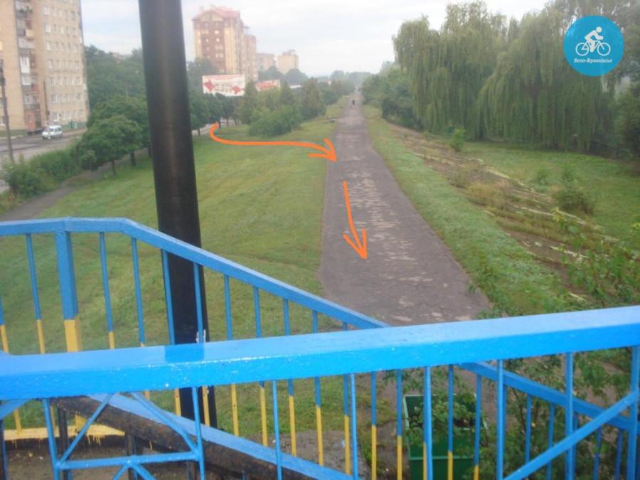 Іванофранківцям показали як можуть виглядати велодоріжки на Галицькій (фото) - фото 24