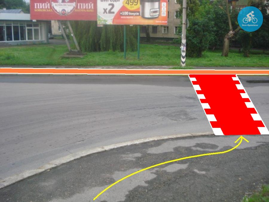 Іванофранківцям показали як можуть виглядати велодоріжки на Галицькій (фото) - фото 25