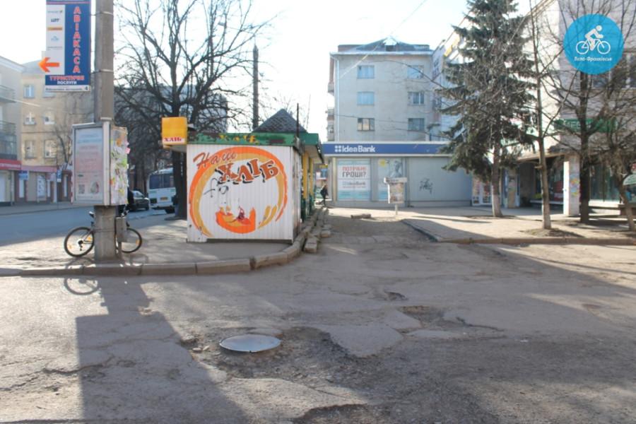 Іванофранківцям показали як можуть виглядати велодоріжки на Галицькій (фото) - фото 43