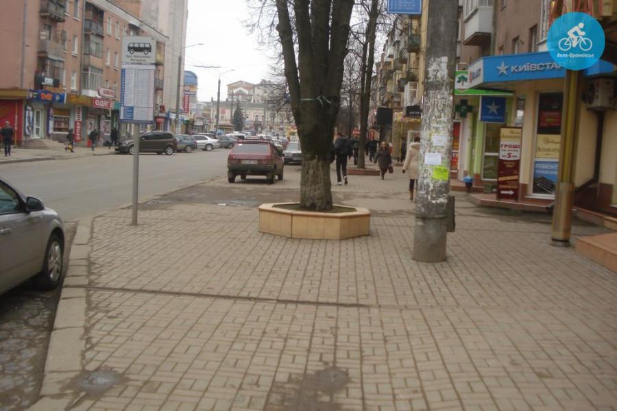 Іванофранківцям показали як можуть виглядати велодоріжки на Галицькій (фото) - фото 50
