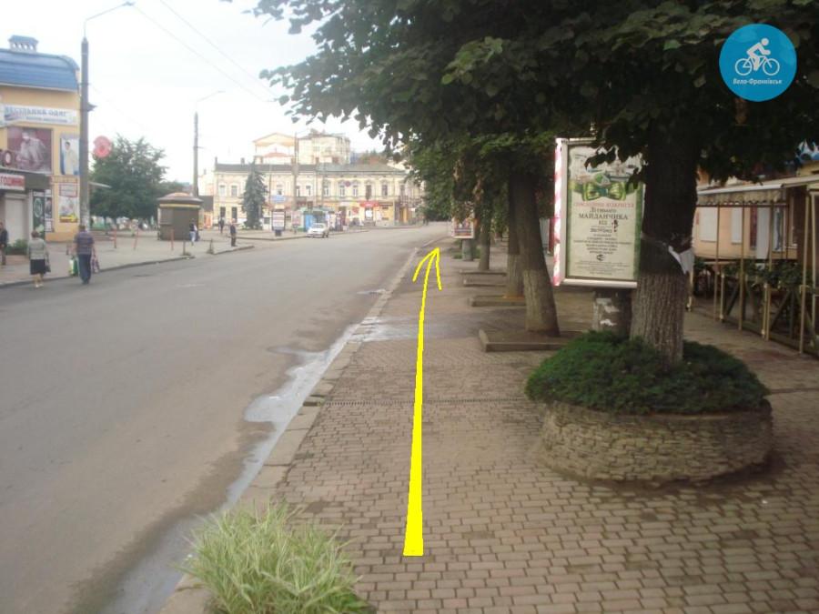 Іванофранківцям показали як можуть виглядати велодоріжки на Галицькій (фото) - фото 53