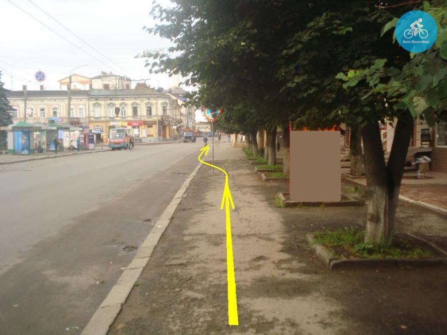 Іванофранківцям показали як можуть виглядати велодоріжки на Галицькій (фото) - фото 55