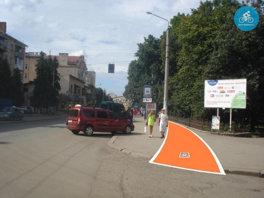 Іванофранківцям показали як можуть виглядати велодоріжки на Галицькій (фото) - фото 60