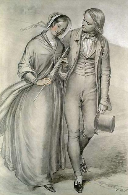 26. Redgrave, Richard - The Wedding Morning - The Departure, c.1846