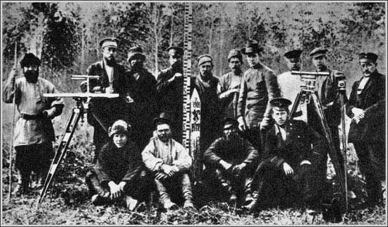 первая экспедиция на Тунгуску