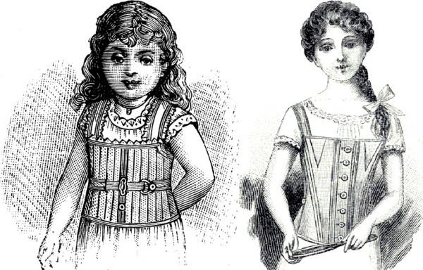 Корсет для маленькой девочки, для подростка..