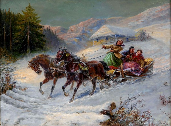 Prucha, Gustav 1875 - 1952 Junges Glück