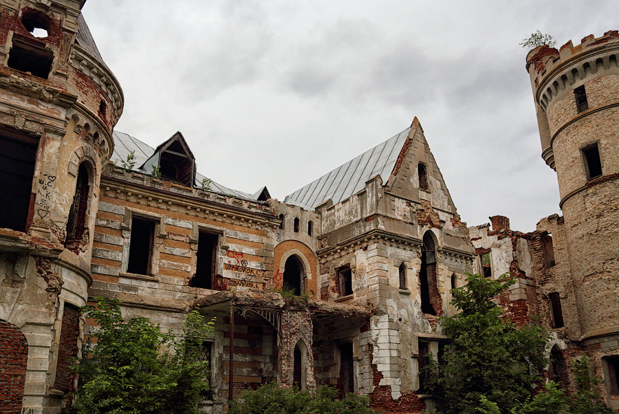 этот замок храповицкого в поселке муромцево фото днём моряка открытка