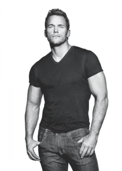Chris Pratt Showing Off That Body For Men's Health ...